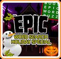 Epic Word Search Holiday Special Nintendo 3DS Front Cover