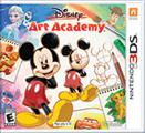 Disney Art Academy Nintendo 3DS Front Cover