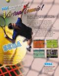 Virtua Tennis Arcade Front Cover