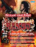 Rambo Arcade Front Cover
