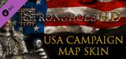 Stronghold HD: USA Campaign Map Skin Windows Front Cover