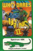 Who Dares Wins II ZX Spectrum Front Cover