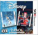 Disney 2-Pack: Frozen: Olaf's Quest / Big Hero 6: Battle in the Bay Nintendo 3DS Front Cover