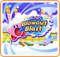 Kirby's Blowout Blast Nintendo 3DS Front Cover