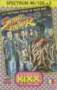 Street Fighter ZX Spectrum Front Cover