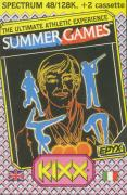 Summer Games ZX Spectrum Front Cover