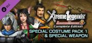 Dynasty Warriors 8: Xtreme Legends - Complete Edition: Special Costume Pack 1 & Special Weapon Windows Front Cover