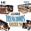 J.League Tremendous Soccer '94 TurboGrafx CD Front Cover Manual - Front