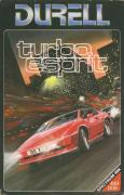 Turbo Esprit ZX Spectrum Front Cover