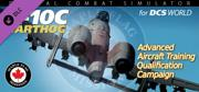 DCS World: A-10C Warthog - Advanced Aircraft Training Qualification Campaign Windows Front Cover