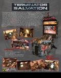 "Terminator: Salvation Arcade Front Cover 42"" cabinet"