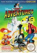 Disney Adventures in the Magic Kingdom NES Front Cover