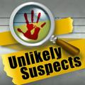Unlikely Suspects iPad Front Cover