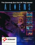Aliens Arcade Front Cover