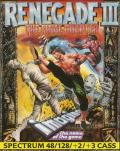 Renegade III: The Final Chapter ZX Spectrum Front Cover