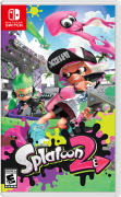 Splatoon 2 Nintendo Switch Front Cover 1st version