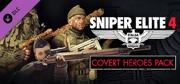 Sniper Elite 4: Italia - Covert Heroes Character Pack Windows Front Cover