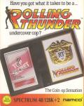 Rolling Thunder ZX Spectrum Front Cover