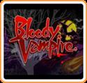Bloody Vampire Nintendo 3DS Front Cover