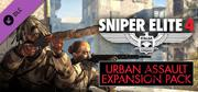 Sniper Elite 4: Italia - Urban Assault Expansion Pack Windows Front Cover
