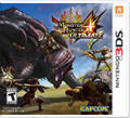 Monster Hunter 4: Ultimate Nintendo 3DS Front Cover