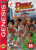 Double Dribble: The Playoff Edition Genesis Front Cover