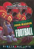 John Madden Football Genesis Front Cover