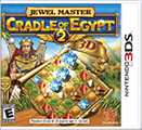 Jewel Master: Cradle of Egypt 2 Nintendo 3DS Front Cover