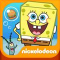 SpongeBob Moves In iPad Front Cover