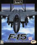 Jane's Combat Simulations: F-15 Windows Front Cover