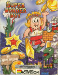 Wonder Boy in Monster Land ZX Spectrum Front Cover