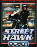 Street Hawk ZX Spectrum Front Cover