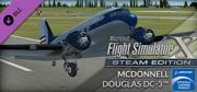 Microsoft Flight Simulator X: Steam Edition - McDonnell Douglas DC-3 Windows Front Cover
