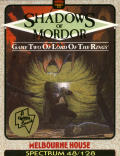 The Shadows of Mordor ZX Spectrum Front Cover