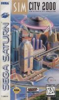 SimCity 2000 SEGA Saturn Front Cover