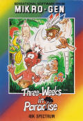 Three Weeks in Paradise ZX Spectrum Front Cover