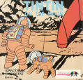 Tintin on the Moon ZX Spectrum Front Cover