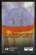 Marsport ZX Spectrum Front Cover