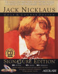 Jack Nicklaus Golf & Course Design: Signature Edition CD Compendium DOS Front Cover