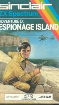 Espionage Island ZX Spectrum Front Cover