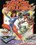 Psycho Soldier ZX Spectrum Front Cover