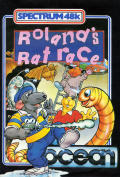 Roland's Ratrace ZX Spectrum Front Cover