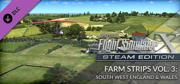 Microsoft Flight Simulator X: Steam Edition - Farm Strips Vol 3: South West England & Wales Windows Front Cover