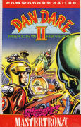 Dan Dare II: Mekon's Revenge Commodore 64 Front Cover