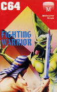 Fighting Warrior Commodore 64 Front Cover