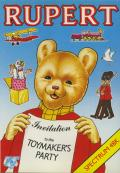 Rupert and the Toymaker's Party ZX Spectrum Front Cover