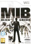 MIB: Alien Crisis Wii Front Cover