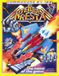 Terra Cresta Commodore 64 Front Cover