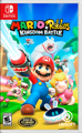 Mario + Rabbids: Kingdom Battle Nintendo Switch Front Cover