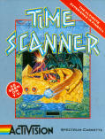 Time Scanner ZX Spectrum Front Cover